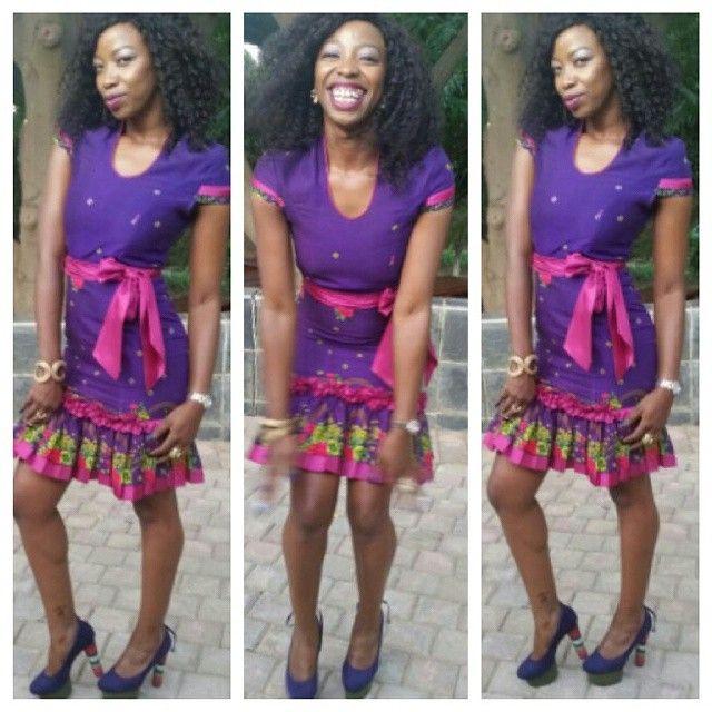 Tsonga Dress! Lovely!