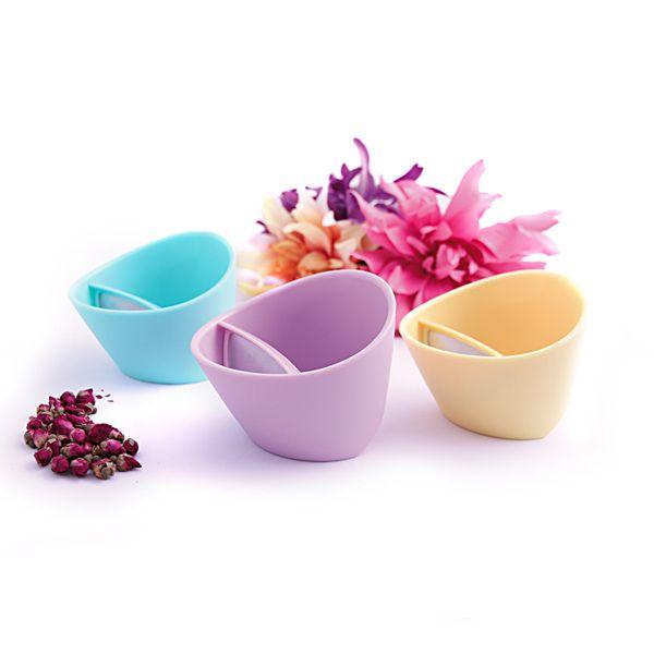 Para começar bem a semana, inspirada nas cores da primavera! Os novos tons pastel da Magisso Teacup, disponível na Casa Ruim. http://casaruim.com/produto/magisso-teacup-pastel/