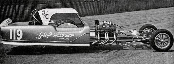 Straight Line Racing Car