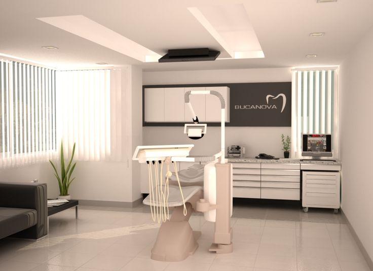 Diseño comercial consultorio moderno contemporaneo