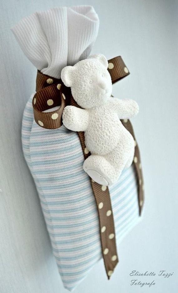 Profuma biancheria bebè con gessetto profumato