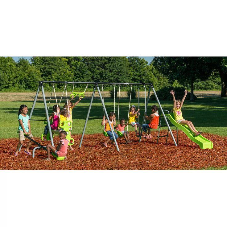 Flexible Flyer Fun Fantastic Swing Set