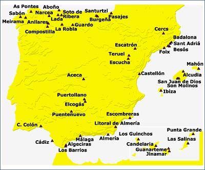 Centrales #térmicas en España