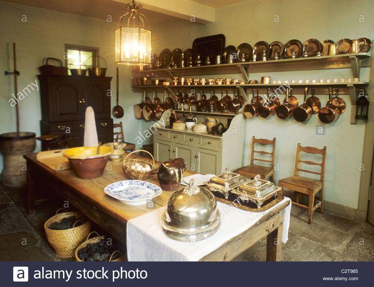 The Kitchen at the Georgian House 7 Charlotte Square Edinburgh