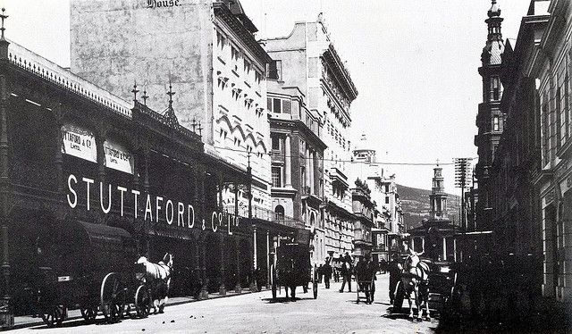 Cape Town history St. George's Street during the early 1900s | Flickr - Photo Sharing!