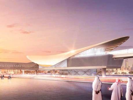 Dubai Metro's Route 2020 station revealed | GulfNews.com
