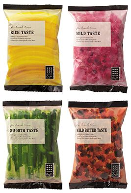 Love the visibility and use of the natural foods colors and texture. Simple and complete
