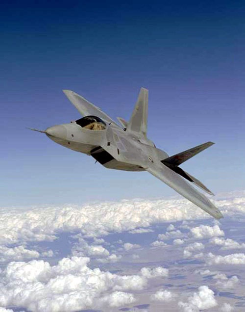 Favorite plane from my fav base. F22 from Tyndal AFB Florida
