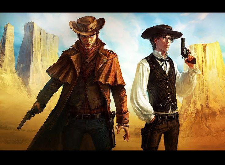 Gunslinger by on deviantart i feel for Steampunk story ideas