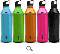 Miir BPA free water bottles are the perfect way to stay hydrated while you're on the move. Made with 18/8 stainless steel, these bottles have a 27oz capacity. Tough enough to keep up with your active lifestyle, and available in different colors so you can accessories your workout gear. Miir BPA free stainless water bottles are your top choice when it comes to hydration.