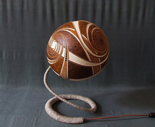Awesome Lamp Gourd Carving Patterns | ... Light To Pass Through Each Carving,  Creating Good Looking
