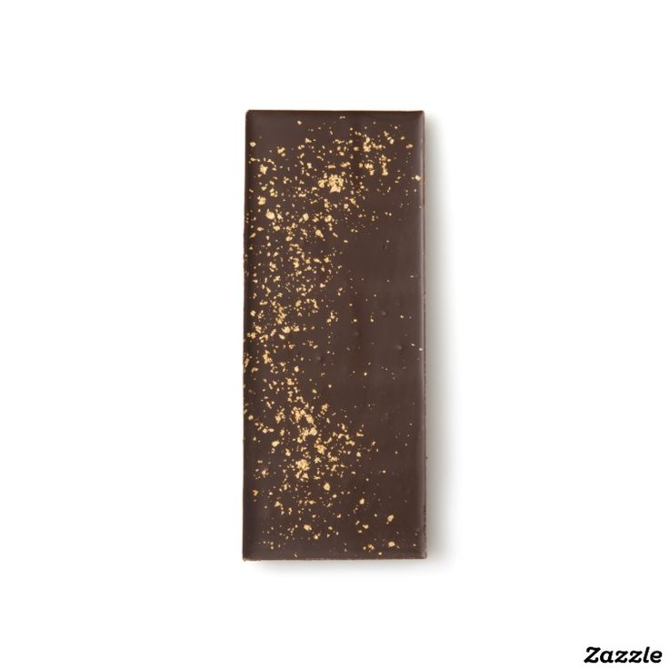 23 Karat Gold Flake Dark Chocolate Bar