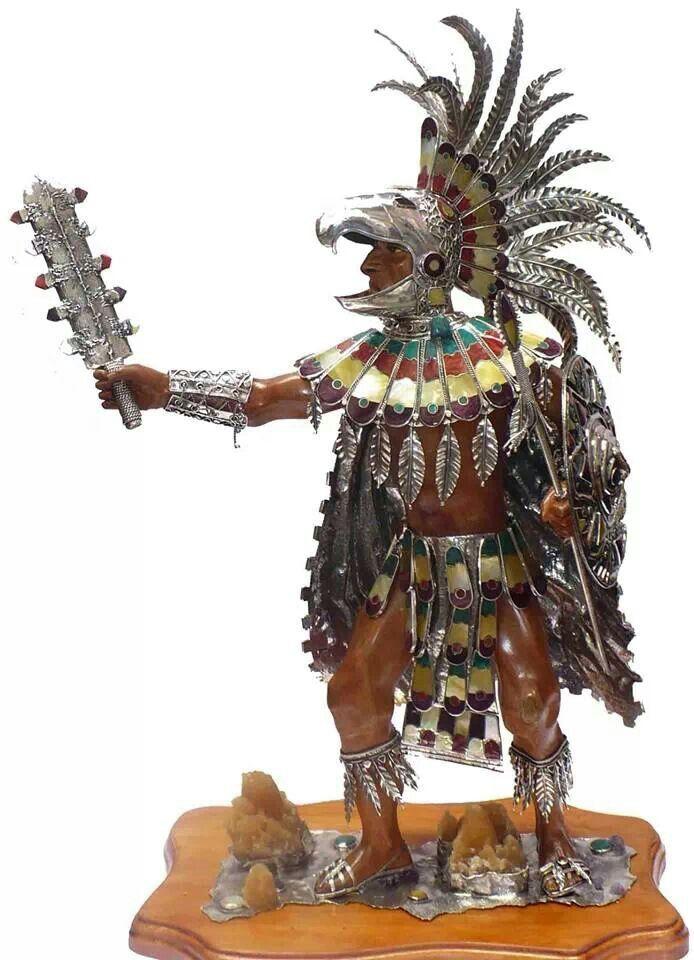 Aztec warrior reproduction figurine | General Ideas ...