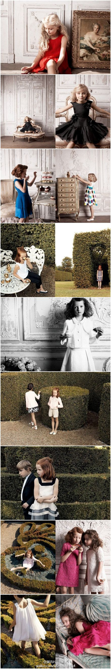 Baby Dior 2013 Summer lookbook