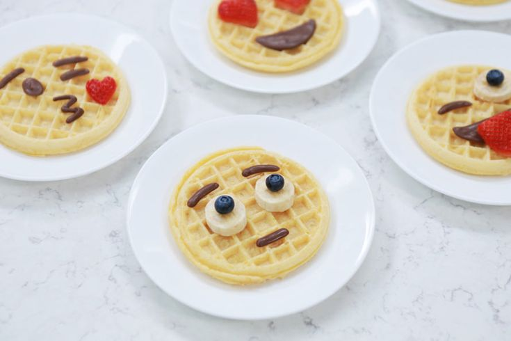 Emoji Waffles Know How You Feel | Foodiggity