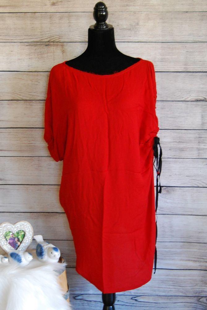 A.L.C Red Tunic Dress Sz 4 #ALC #Tunic #Casual