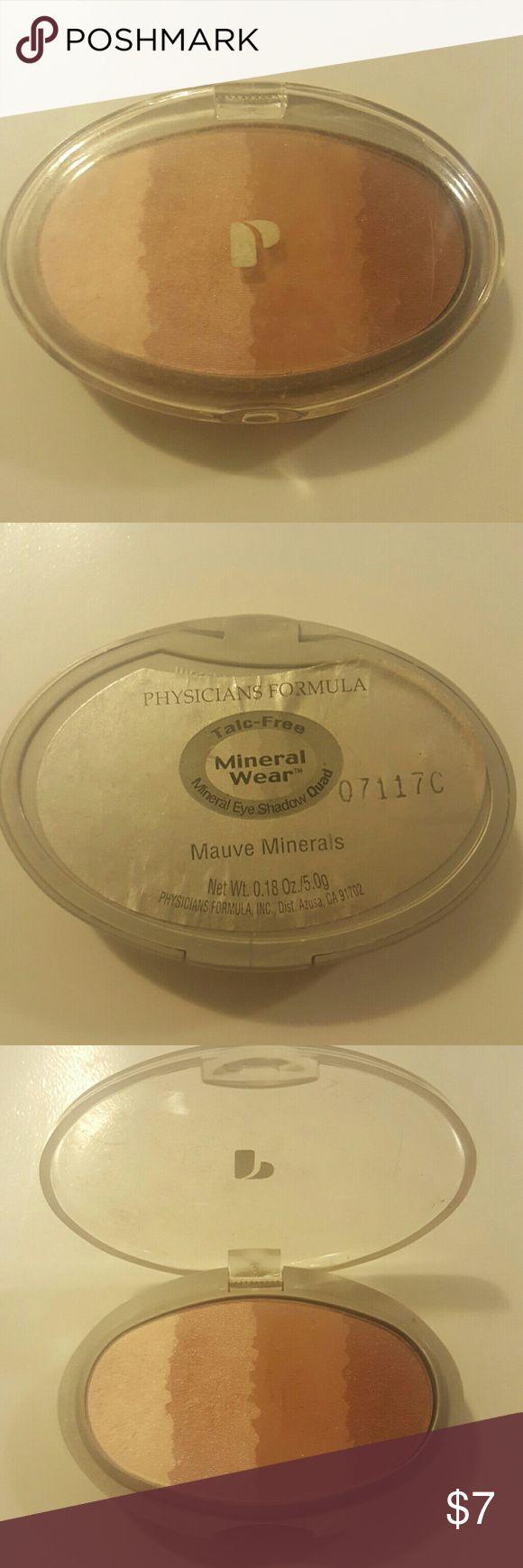 Physicians Formula Eye Shadow Mauve minerals Physicians Formula Makeup Eyeshadow