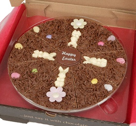 31 best easter gift delivery uk images on pinterest easter gift easter 7 chocolate pizza negle Images