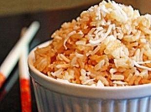 Brown Coconut Rice Recipe   Coconut Oil   Pinterest