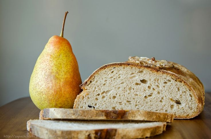 Zapach chleba: Chleb żytni na zaczynie z gruszką