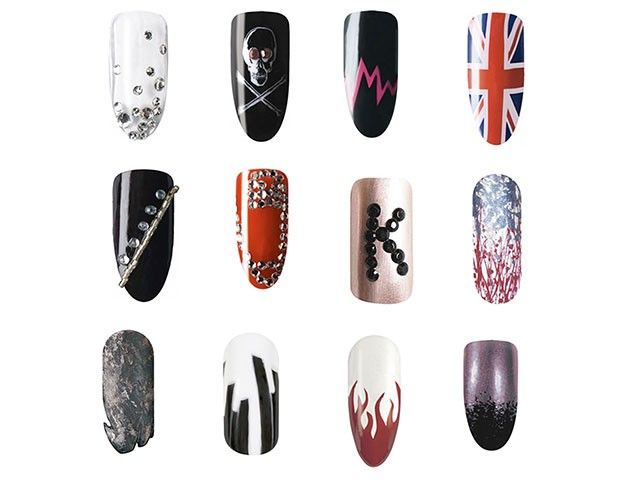 Punk Rock Nail Art Inspiration #nails