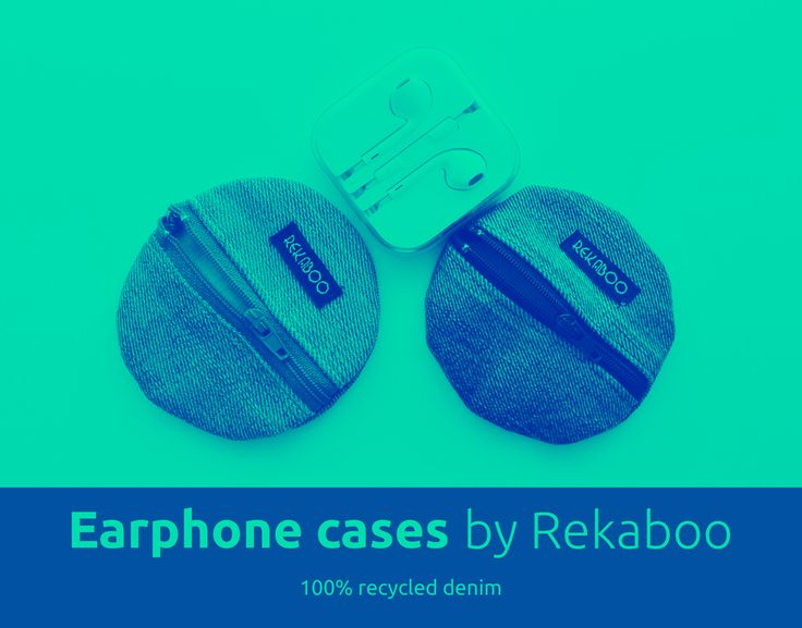 Earphone cases by REKABOO