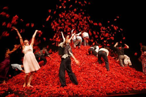 Pina Bauch. Lovely choreography. #FlowerShop