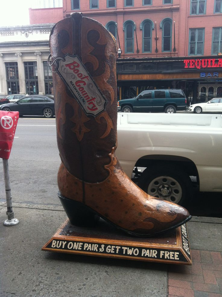 Favorite cowboy boots store in Nashville!