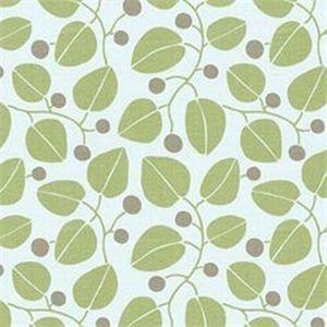 Lilly Leaf Green Leaf Berry Linen Drapery fabric by P. Kaufmann - SW51047 - Fashion Fabrics Club