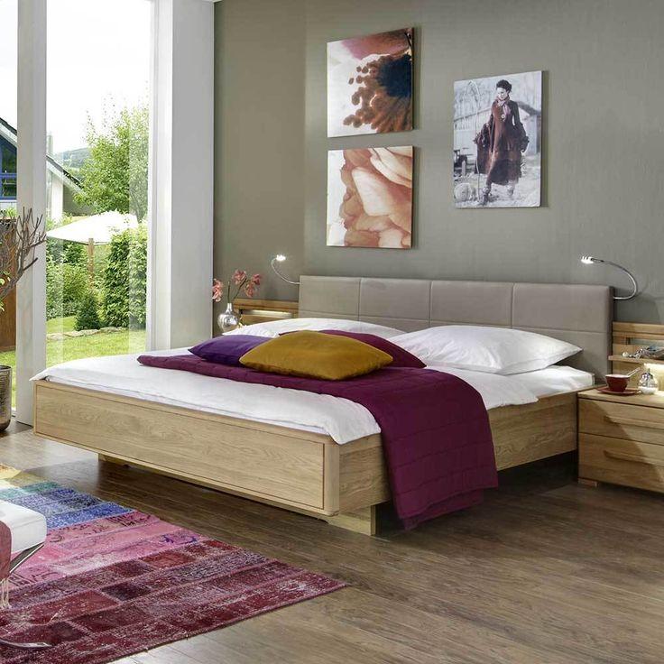 Massivholzbetten eiche  Die besten 25+ Kingsize bett Ideen auf Pinterest | Betten bei ikea ...