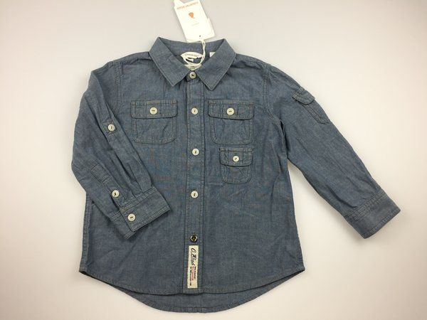 Country Road, boy's long-sleeved chambray shirt, brand new with tags (BNWT), size 3, $24  #countryroad #kidsfashion #boysfashion #daisychainclothing #shirts