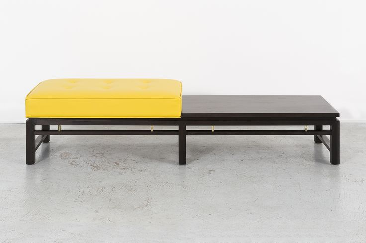 Mahogany Bench by Edward Wormley for Dunbar | Available at Matthew Rachman Gallery