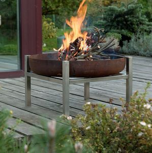 Crate Steel Fire Pit - gifts for him