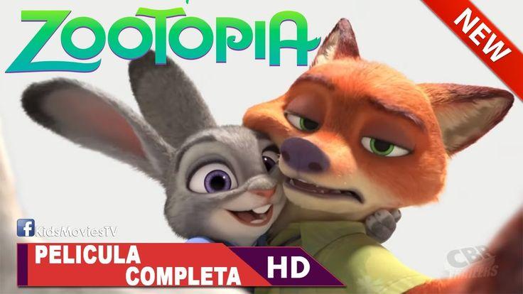 Zootopia Pelicula Completa ✬ Zootopia en Español Latino Disney HD 2016 ✬...