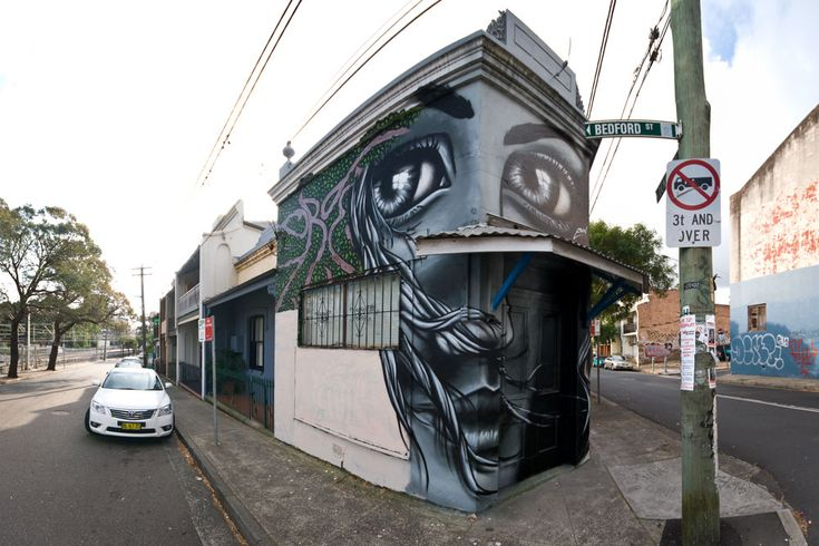 10 Street Art by Eoin 'The Watcher' Location Newtown, Sydney Australia » STREET ART UTOPIA