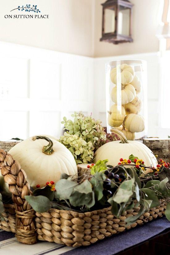 Best natural fall decor ideas on pinterest
