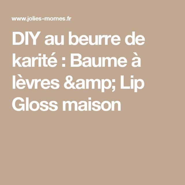 17 meilleures id es propos de gloss fait maison sur - Baume a levres maison ...