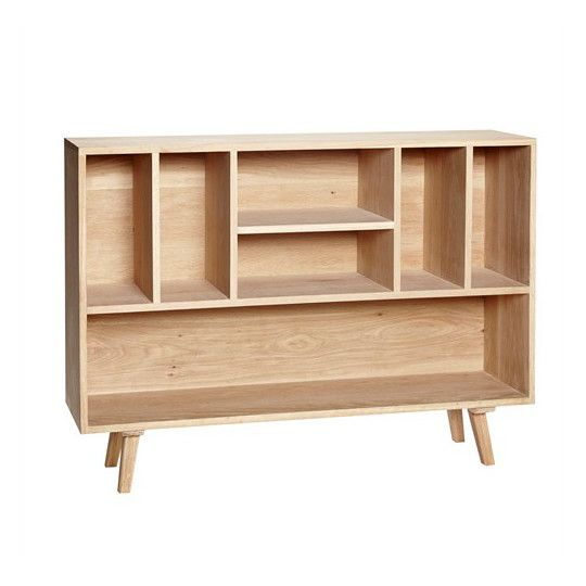3050 Regał Wood Producent: 	Hubsch Wymiary: 	h 86cm x 120cm x 30cm