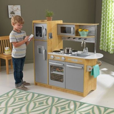 Modern Wooden Play Kitchen 151 best play kitchens & kitchen accessories images on pinterest