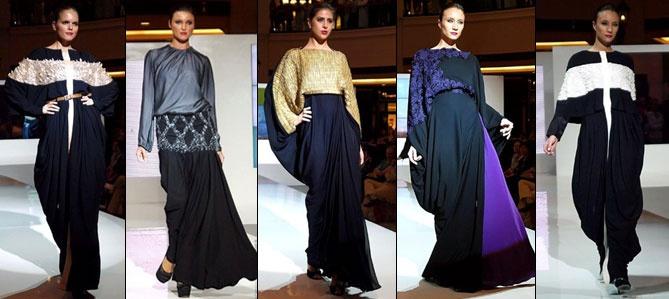 DAS-تختتم-World-of-Fashion-بعرض عبايات مميز