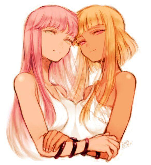 Athena and Pallas - Saint Seiya