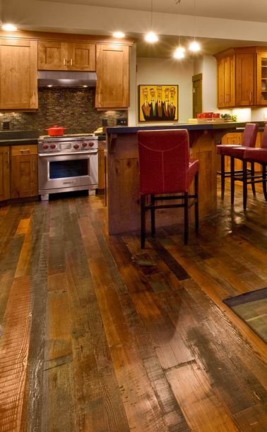 Top 25+ Best Wood Floor Kitchen Ideas On Pinterest | Timeless Kitchen,  White Shaker Kitchen Cabinets And Timber Flooring