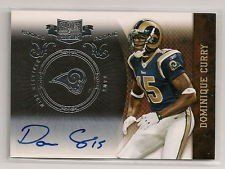 2010 Panini Plates and Patches Signatures Silver #130 Dominique Curry AUTO /50 by Panini Plates and Patches. $8.28. 2010 Panini Group trading card in near mint/mint condition, authenticated by Seller