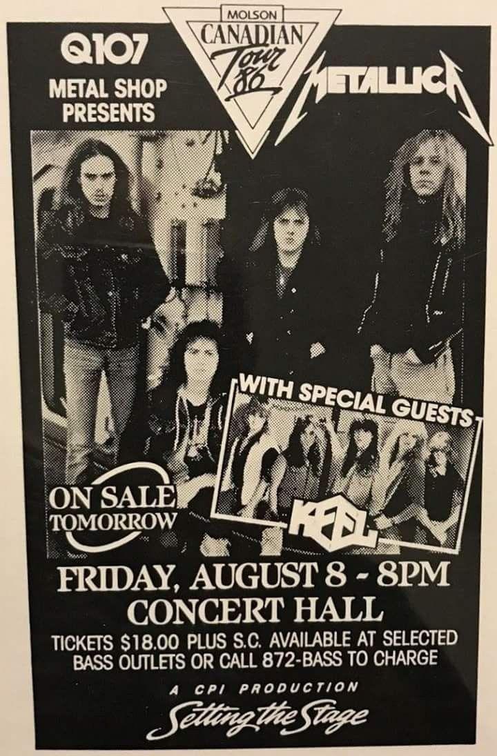 Metal Up Your Ass 1986 Metallica W 2019