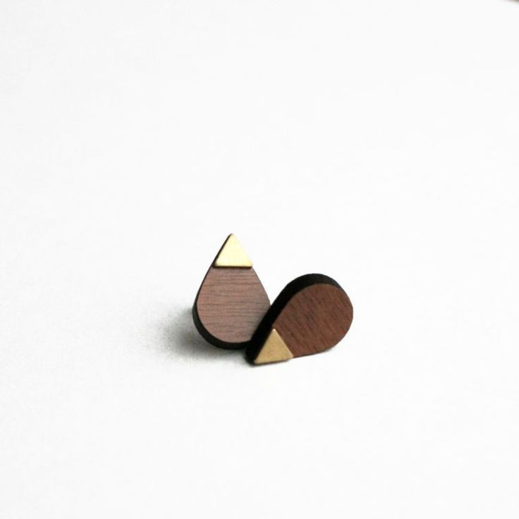 Grundled - Infinit - Tinga Tango Designbutik #design#smykker#ørestikker#grundled#træ