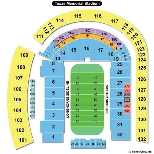 Kansas State Wildcats Football at Texas Longhorns Football tickets | September 21 2013 at DKR Memorial Stadium | TicketCity