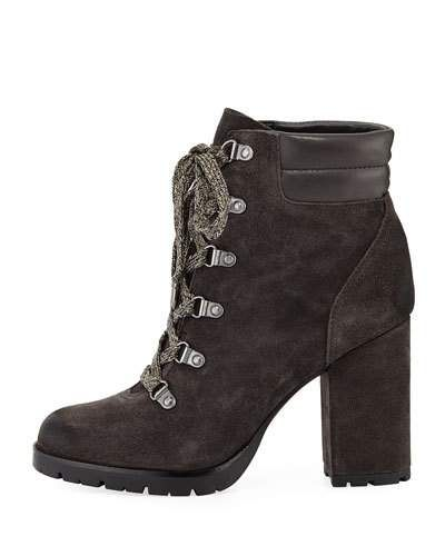 2f4dd3bab X4A7G Sam Edelman Carolena Velutto Lace-Up Boot. Find this Pin and more on  ...