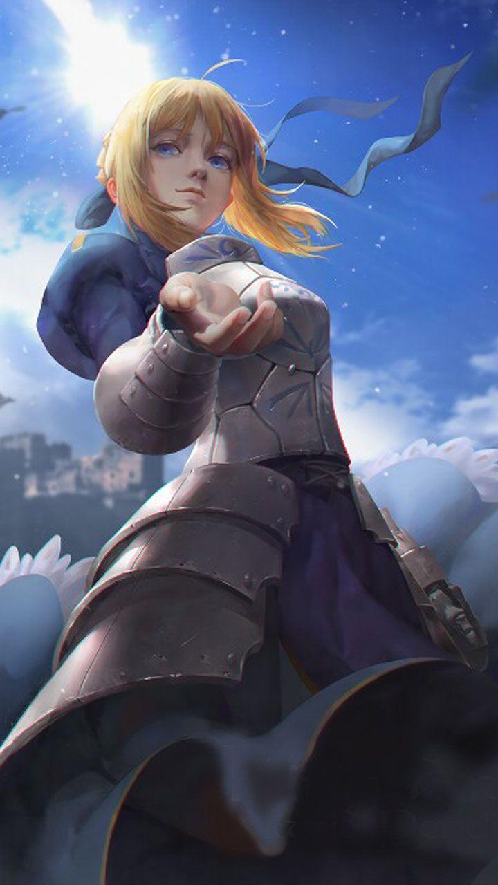 Artoria pendragon in 2020 anime character wallpaper