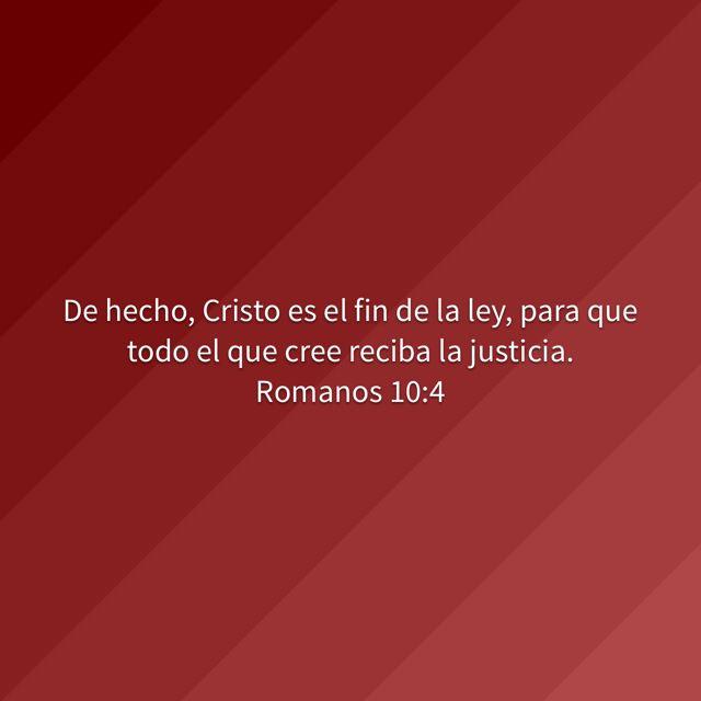 Tengo justicia porque tengo a Cristo! Ya no vivo bajo la ley sino que Cristo vive en mi. Bendiciones!
