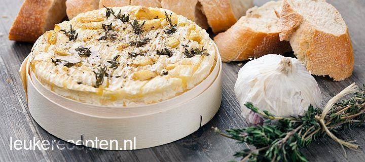 Camembert uit de oven: Groot succes op ons tuinfeest en erg simpel te bereiden!